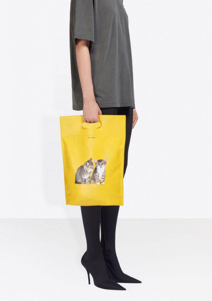 Balanciaga FW18 kitten bag