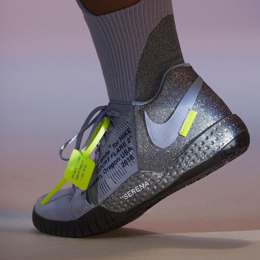 Virgil Abloh Serena Williams Nike