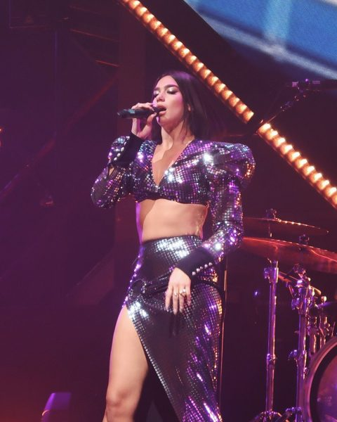 Dua Lipa at #ThePace in Amsterdam