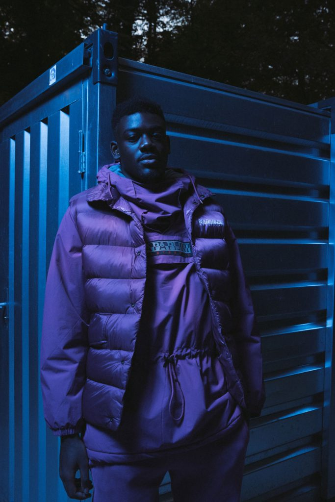 Woodie Smalls by Victor Pattyn for Enfnts Terribles magazine, in collaboration with Napapijri.