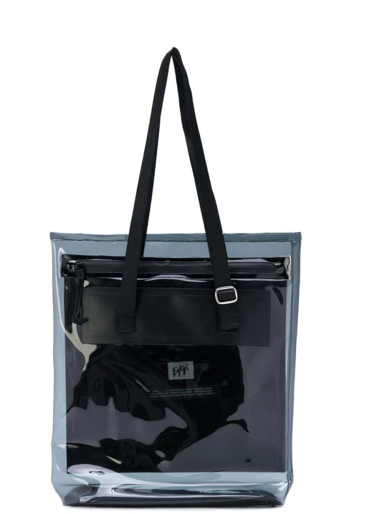 Men's Accessories for Fall 2018: EYTYS pvc bag