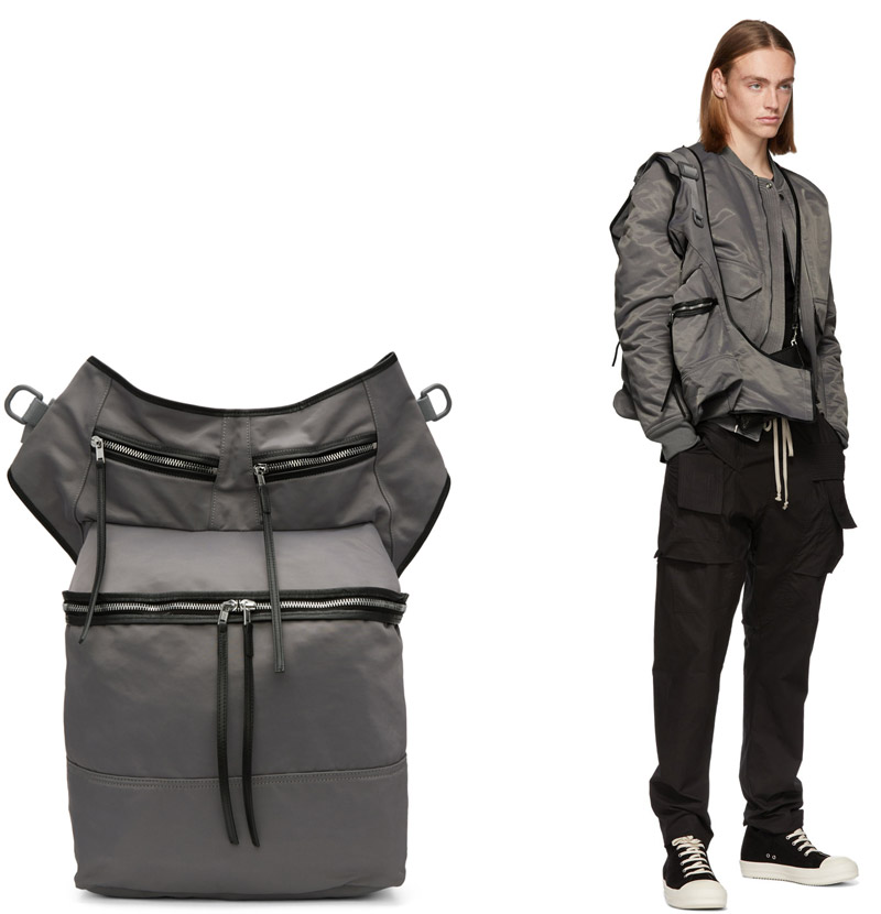 Rick Owens messenger bags