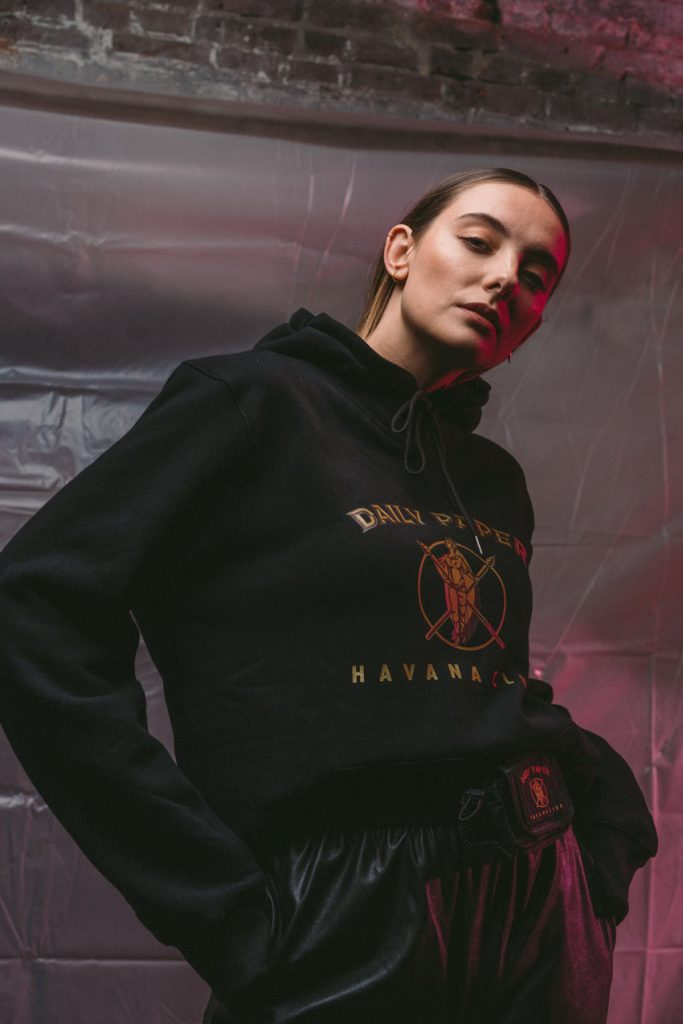 Paulien Riemis for Daily Paper x Havana Club collection, by Enfnts Terribles
