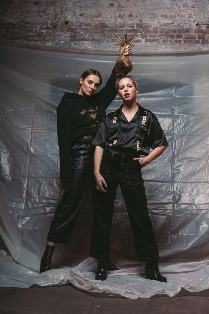 Bab Buelens and Paulien Riemis for Havana Club x Daily Paper collection, by Enfnts Terribles