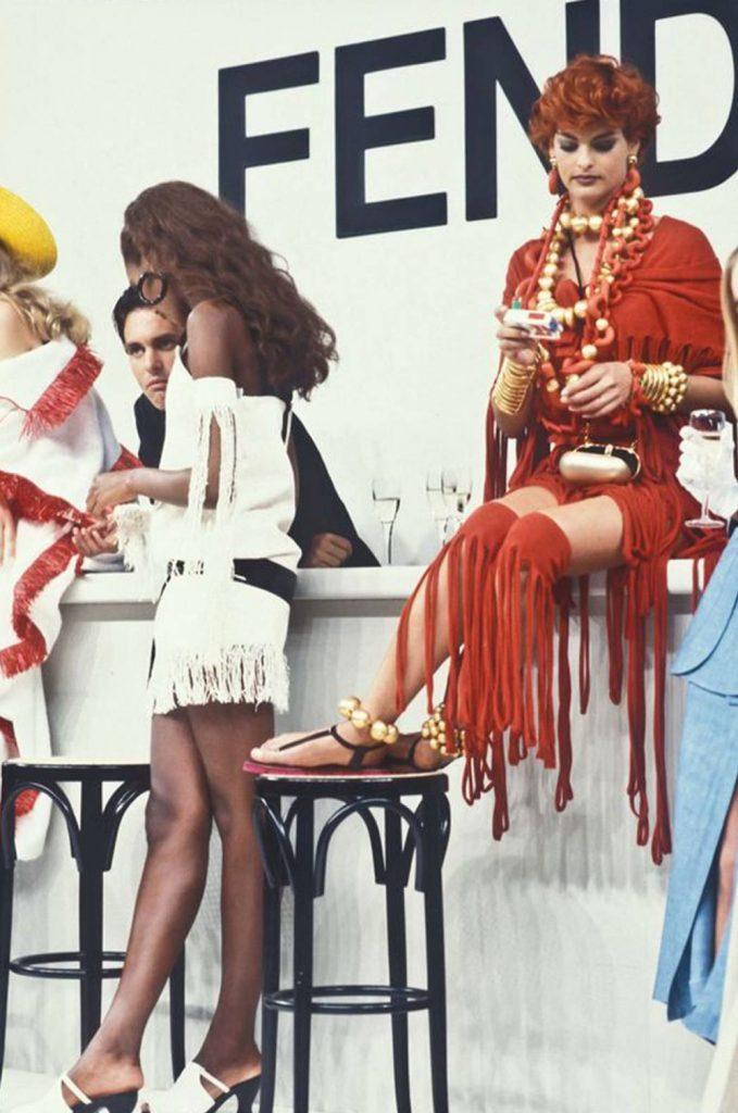 1996 Fendi Furs Fashion Magazine Print Ad: An Ode To The Legendary Karl Lagerfeld