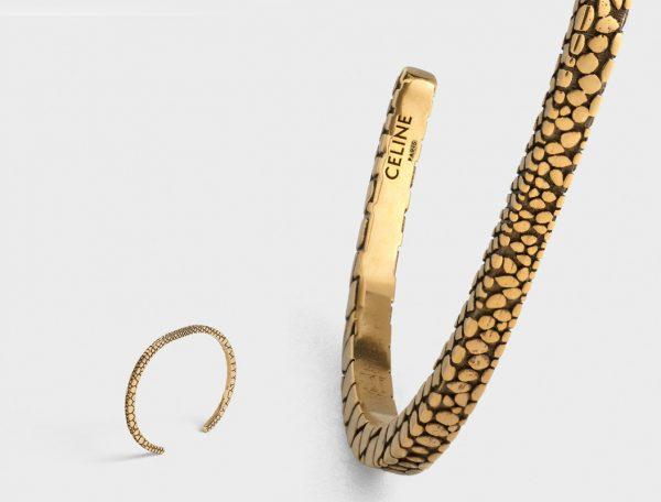 Celine SS19 Jewelry Line designed by Hedi Slimane