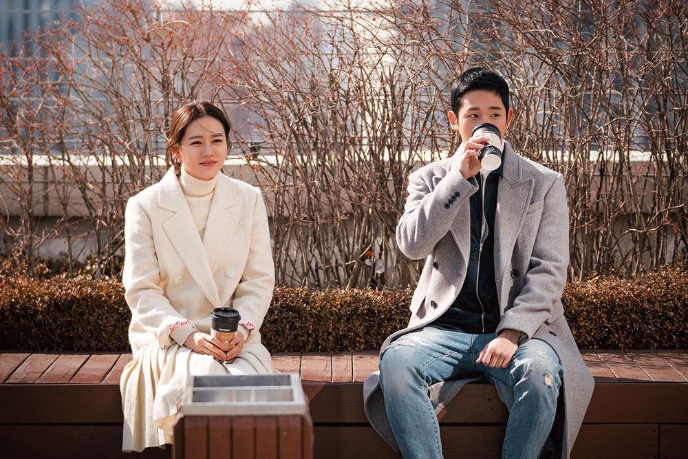 Something in the rain Korean Romcom to watch Netflix