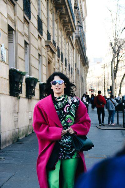 Street Style Looks Outside the Dries Van Noten fw19 Ready-To-Wear Show in Paris