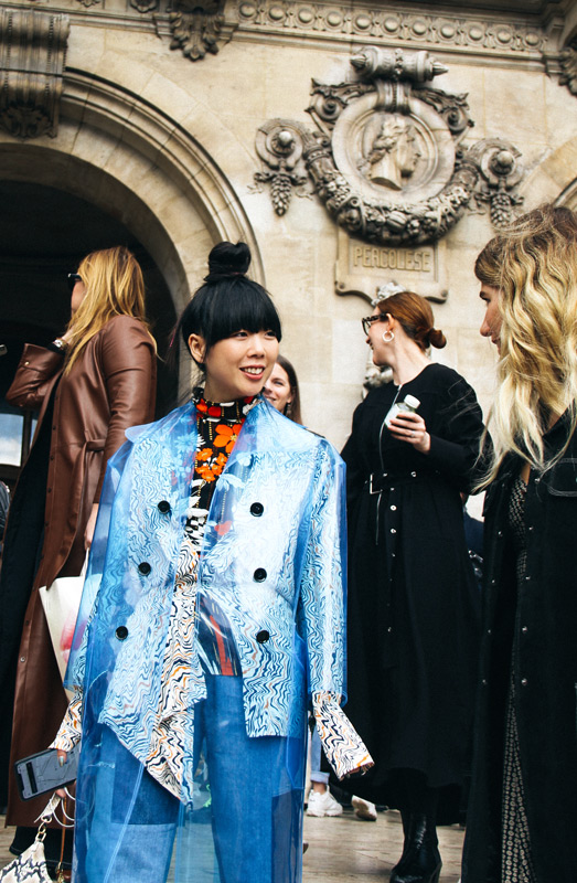 Street Style Looks from Paris Fashion Week fw19 Ready-To-Wear Part II by Jonathan Zegbe