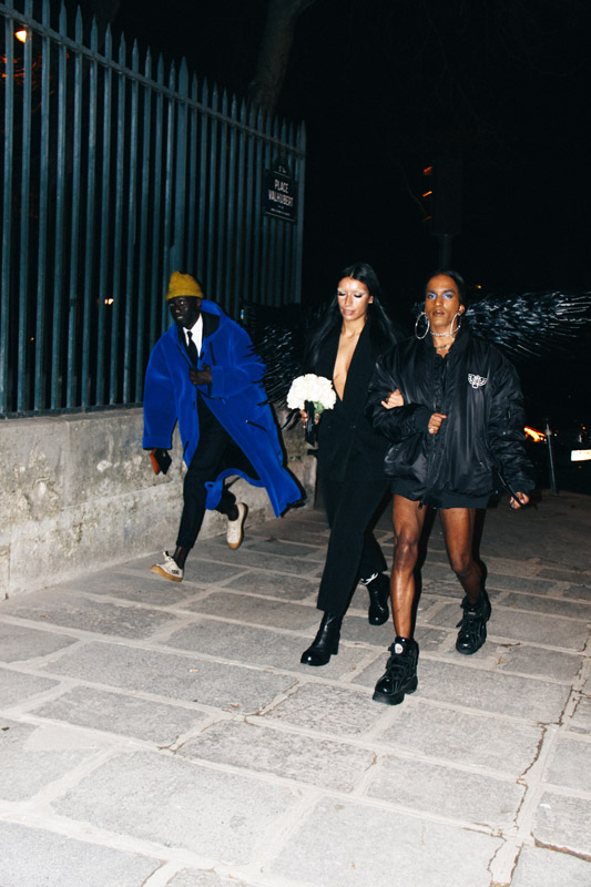 Street Style Looks from Paris Fashion Week fw19 Ready-To-Wear Part II by Jonathan Zegbe
