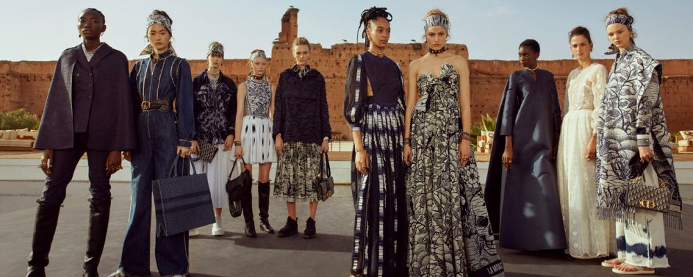 Cruise Wear 2020.Watch Dior Takes Its Cruise 2020 Runway Show To Marrakesh