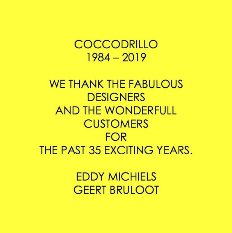 Iconic Antwerp Boutique Coccodrillo Closed Its Doors After 36 Years