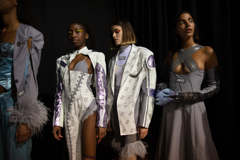 Backstage With Antwerp Fashion Master Di Du