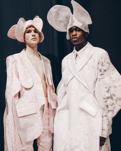 Backstage with Antwerp Fashion Master: Victor Wang