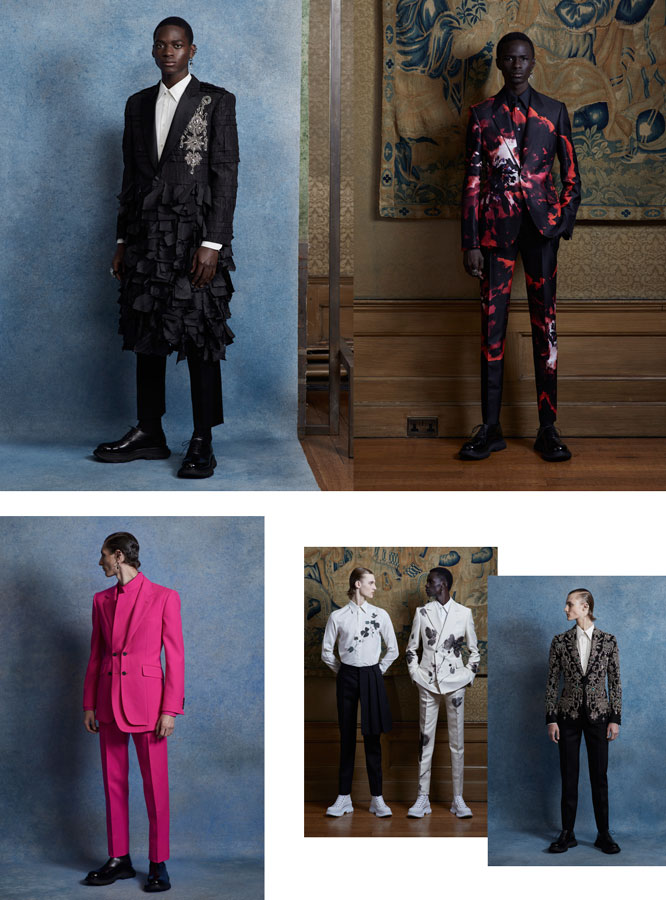Alexander McQueen Spring/Summer 2020 Menswear Collection