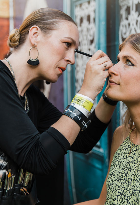 Ines Borgonjon from M.A.C Shares Tips on the 3 Key Festival Makeup Looks