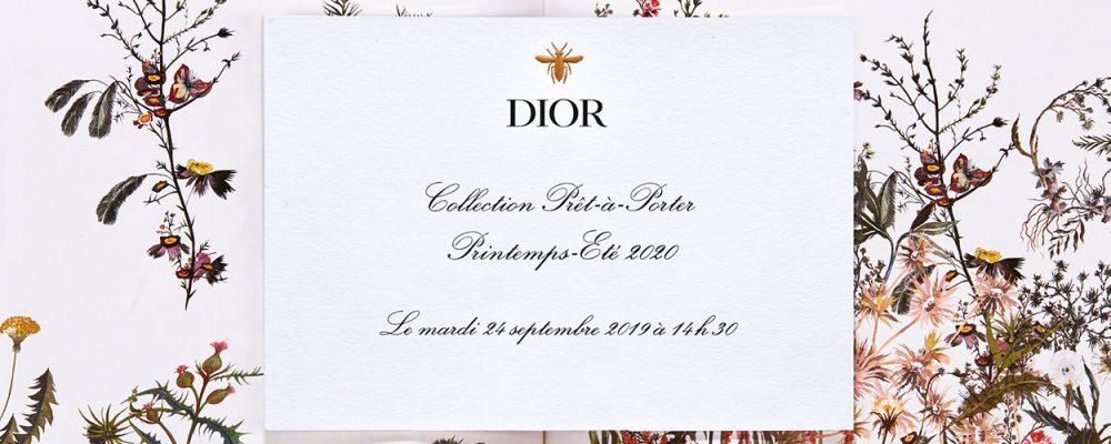 Dior SS20 livestream