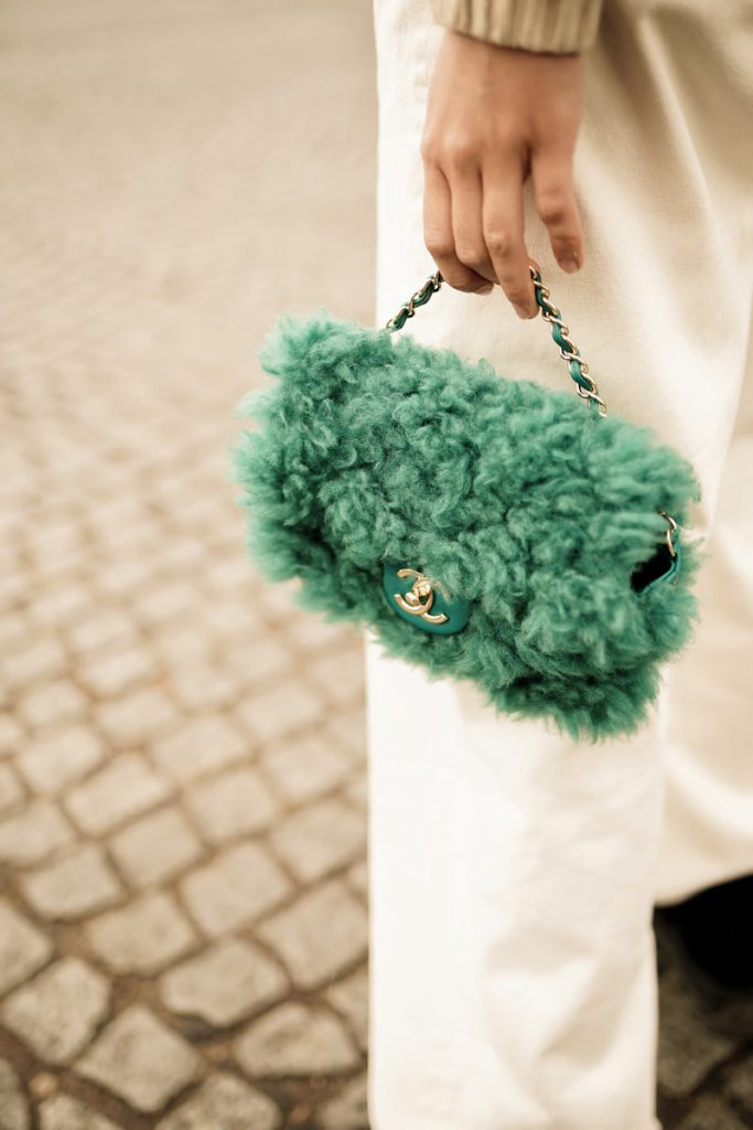 A Chanel Bag | Street Style Looks from Paris Fashion Week SS20 Part 7 by Ludovic Pieterson