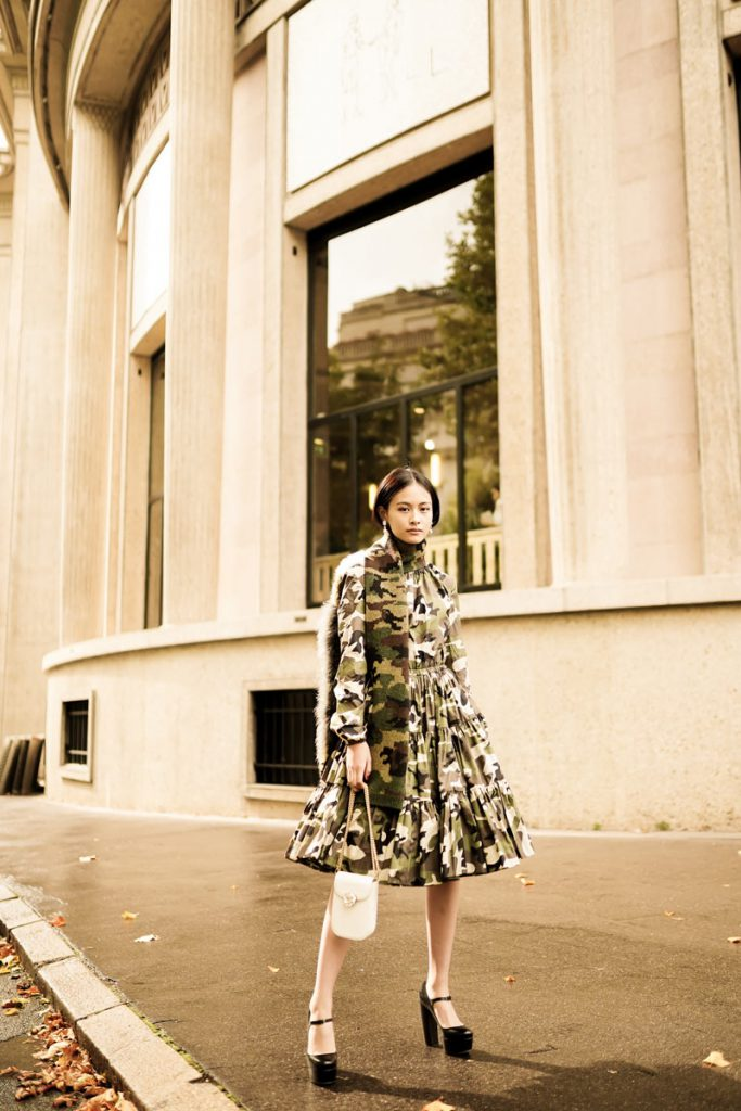 Street Style Looks from Paris Fashion Week SS20 Part 7 by Ludovic Pieterson