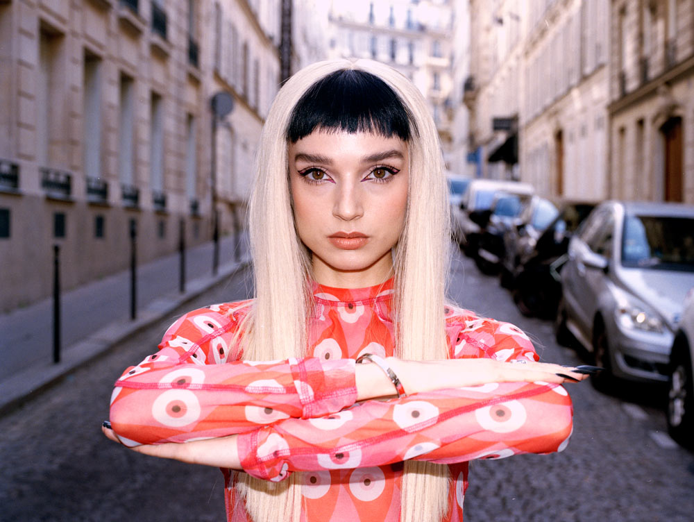 Poppy at Paris Fashion Week by Brahim Tall for Enfnts Terribles magazine