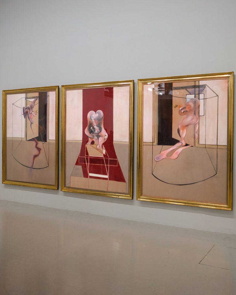 Centre Pompidou Bacon en Toutes Lettres