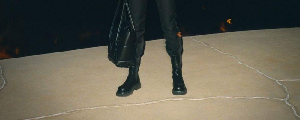 Bottega Veneta black chunky boots