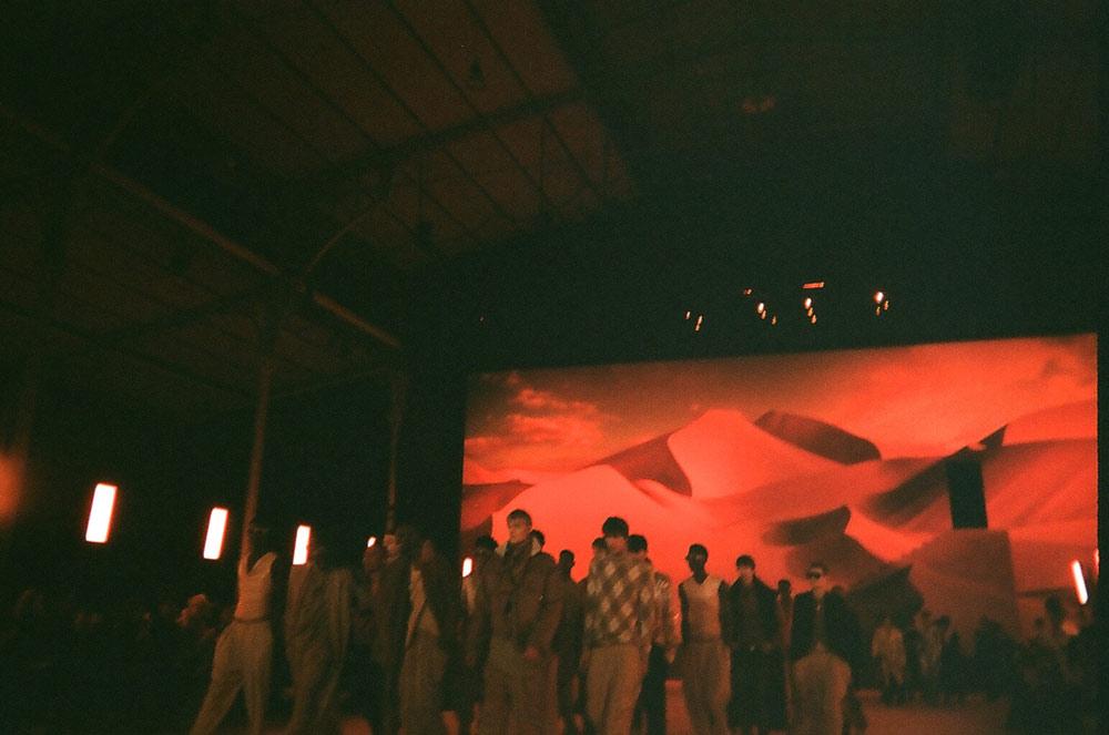 Matthias Geerts at Paris Fashion Week menswear