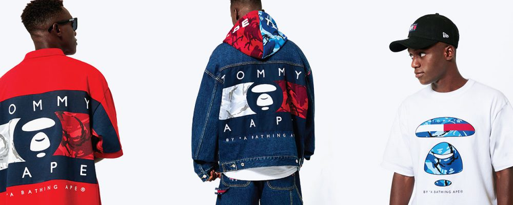 EXCLUSIVE: A First Look at Tommy Jeans x AAPE by *A Bathing Ape®