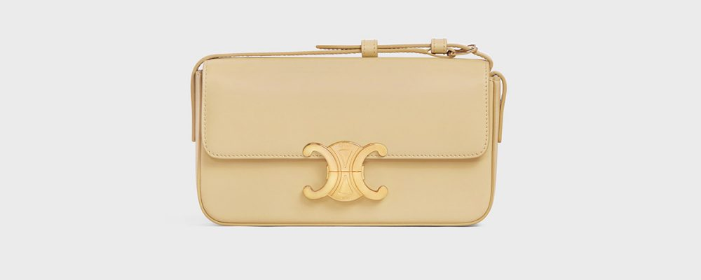 7 Pretty Designer Bags That Aren't all over Instagram Celine Triomphe