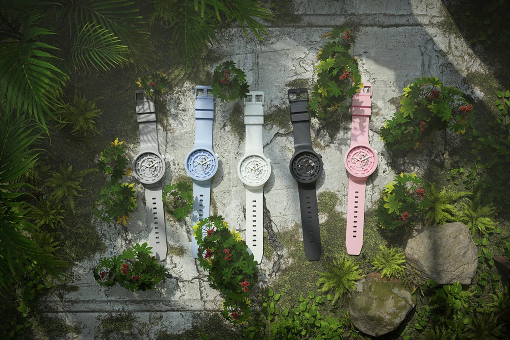 Swatch Presents its Latest Innovation: BIOCERAMIC