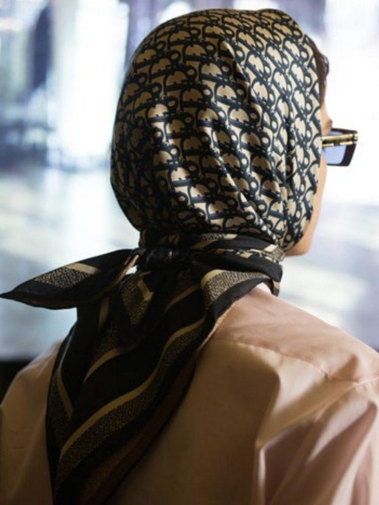 Dior Diortwin scarf AW21 Foulard