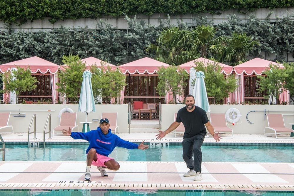 good time hotel Miami Pharrell Williams