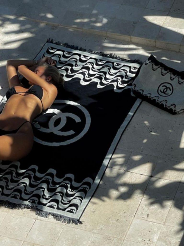 josefine hj Chanel beach towel set
