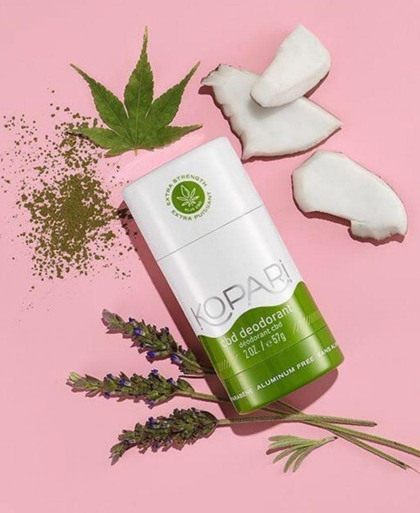 kopari deodorant cbd 420 products