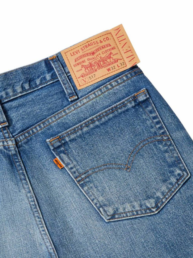 levi's Valentino jeans 517 re-edition