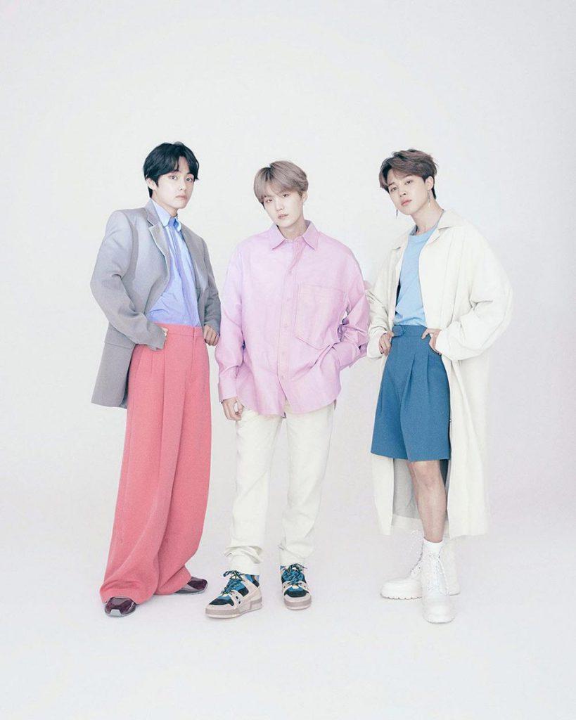 Louis Vuitton Ambassadors BTS