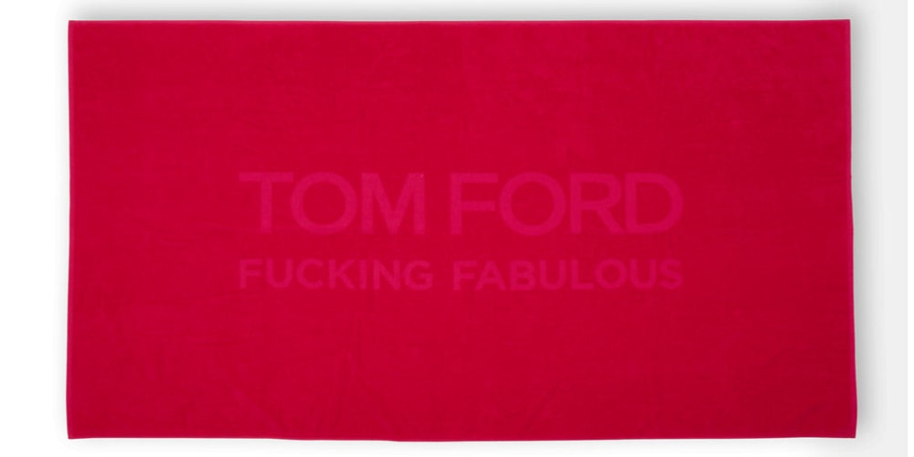 tom ford towel