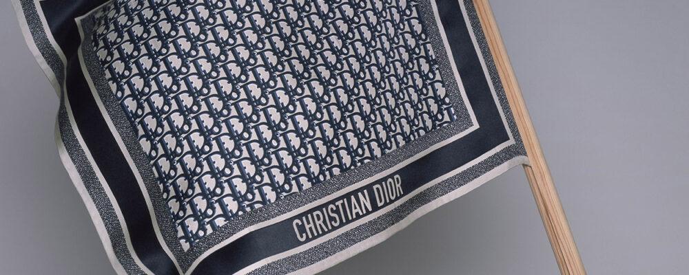 Dior foulards / pictures by Brigitte Niedermair